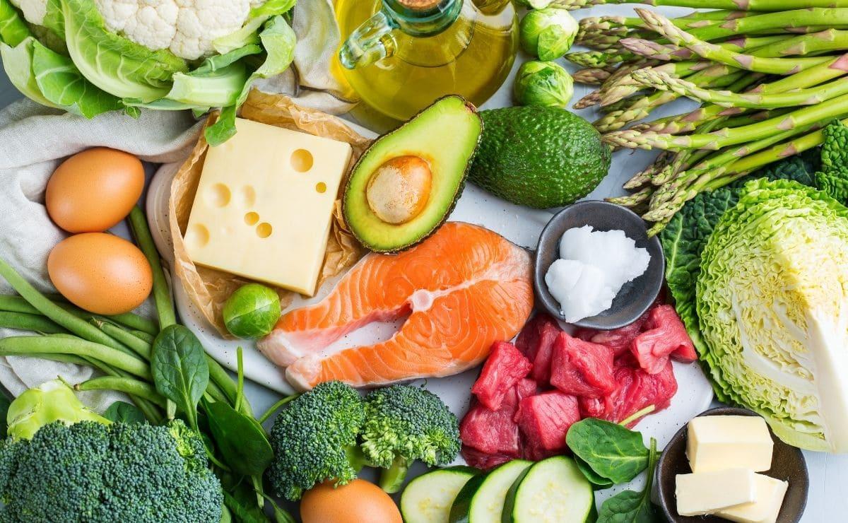 dieta cetogénica comida saludable bajar peso
