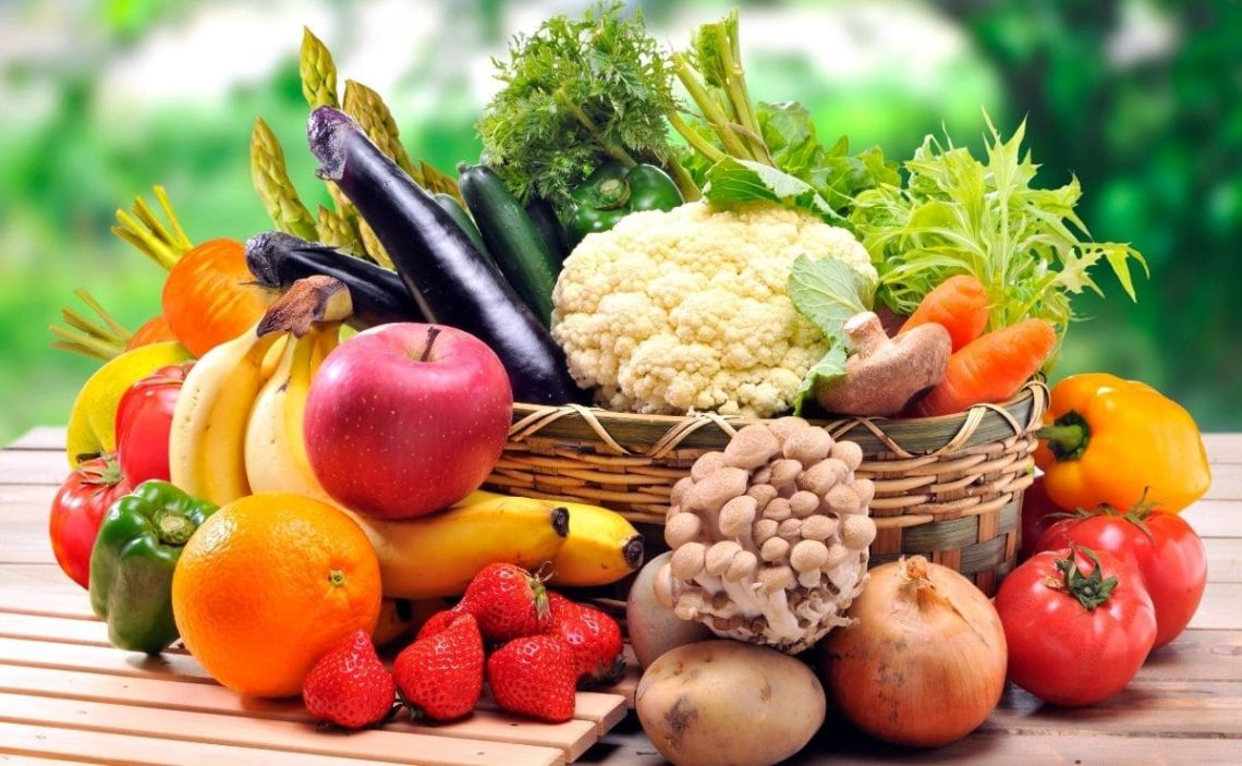 Frutas verduras vitamina B12