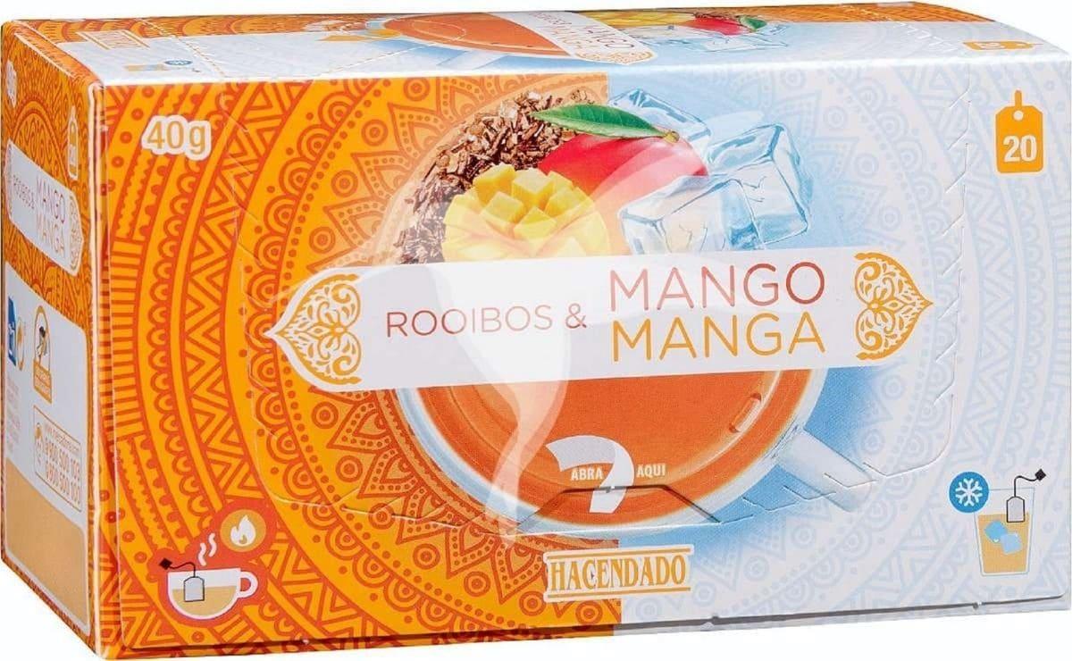infusión fría mango Mercadona