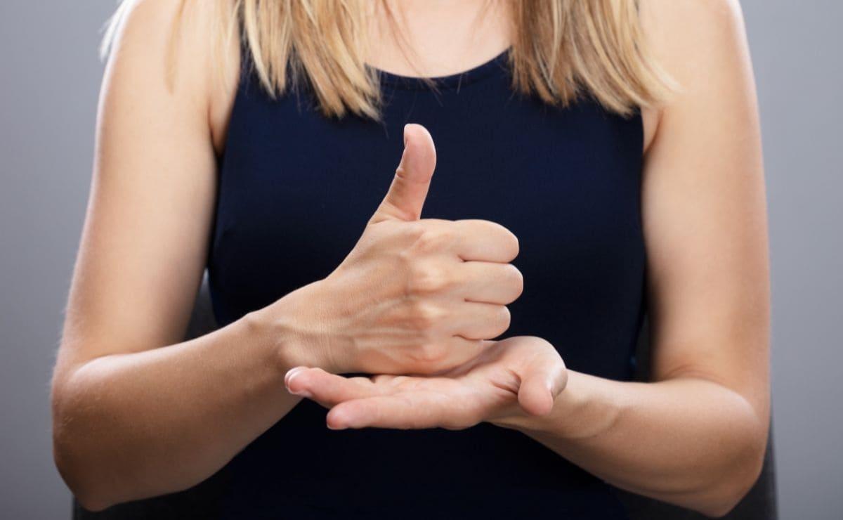 lengua de signos personas sordas