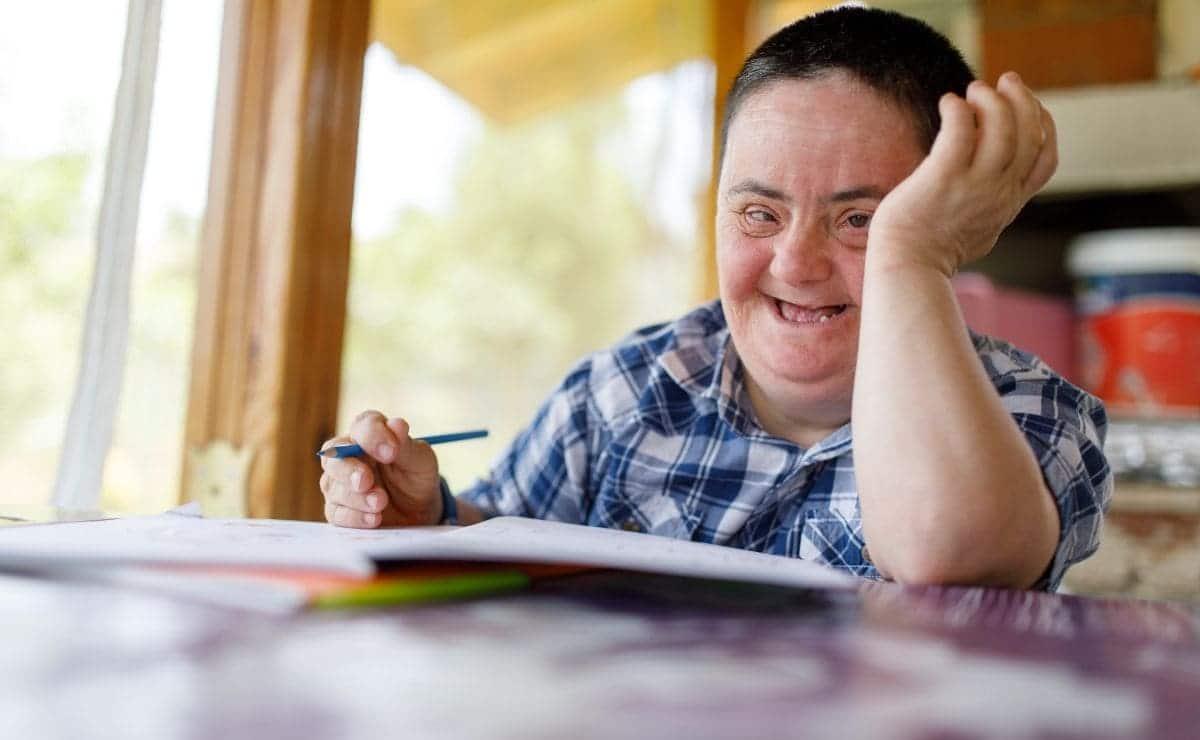 persona con sindrome de down discapacidad