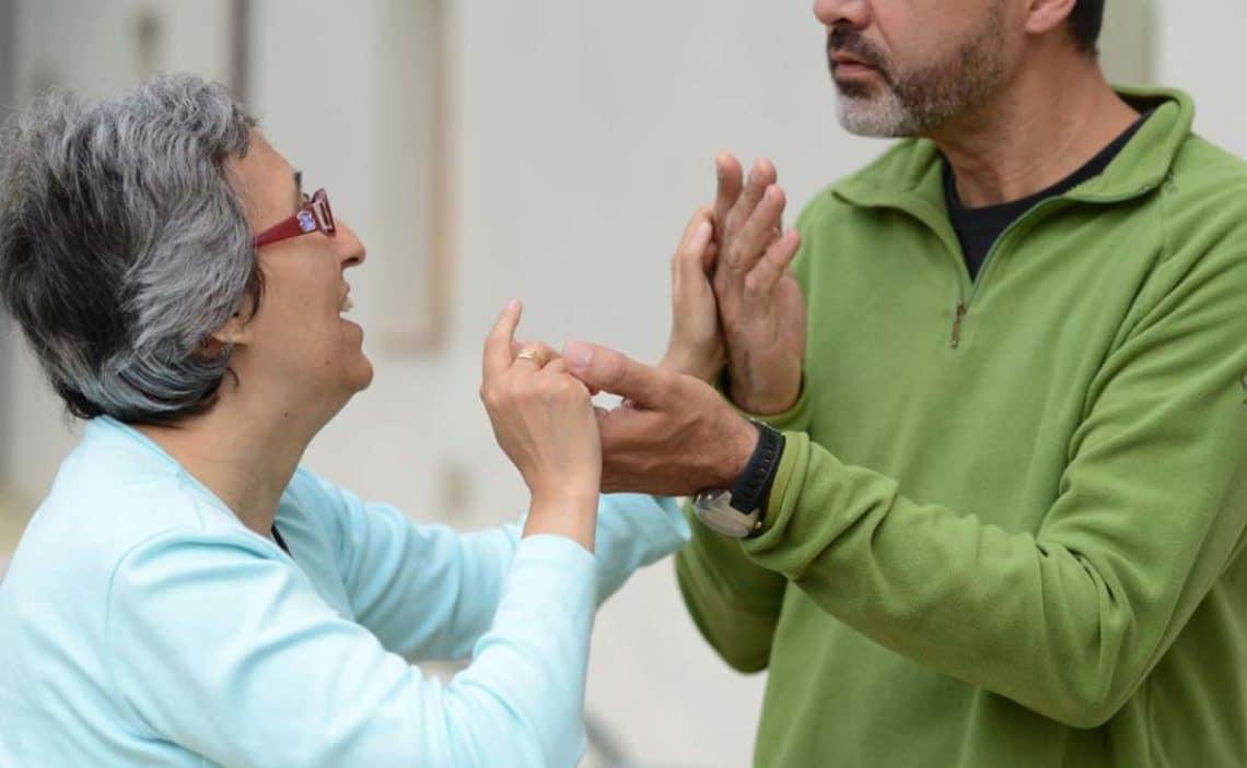 persona sordociega huelva