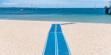 playa accesible Murcia