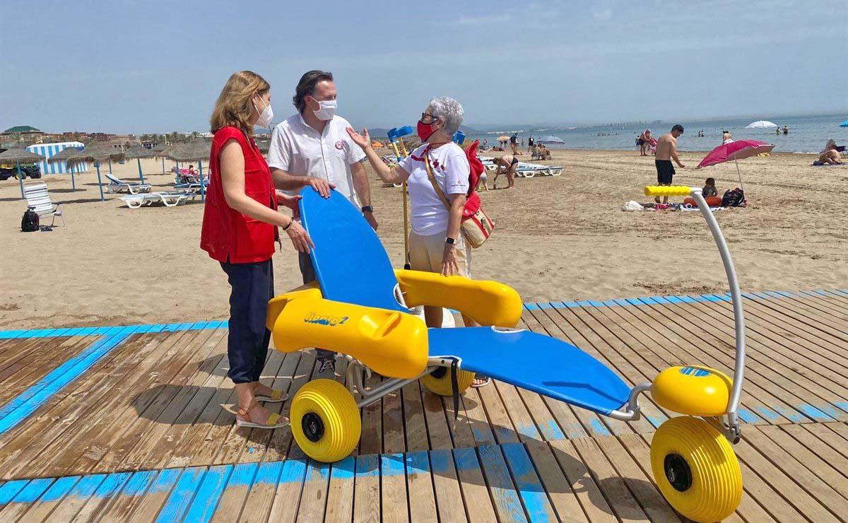 Playa accesible Valencia
