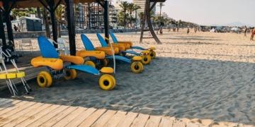 top 10 playas accesibles Andalucía