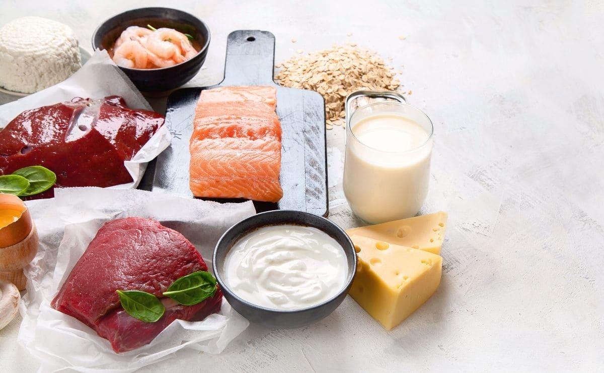 Alimentos con vitamina B-12