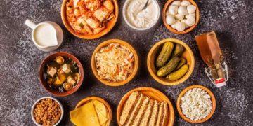 Alimentos probióticos saludables