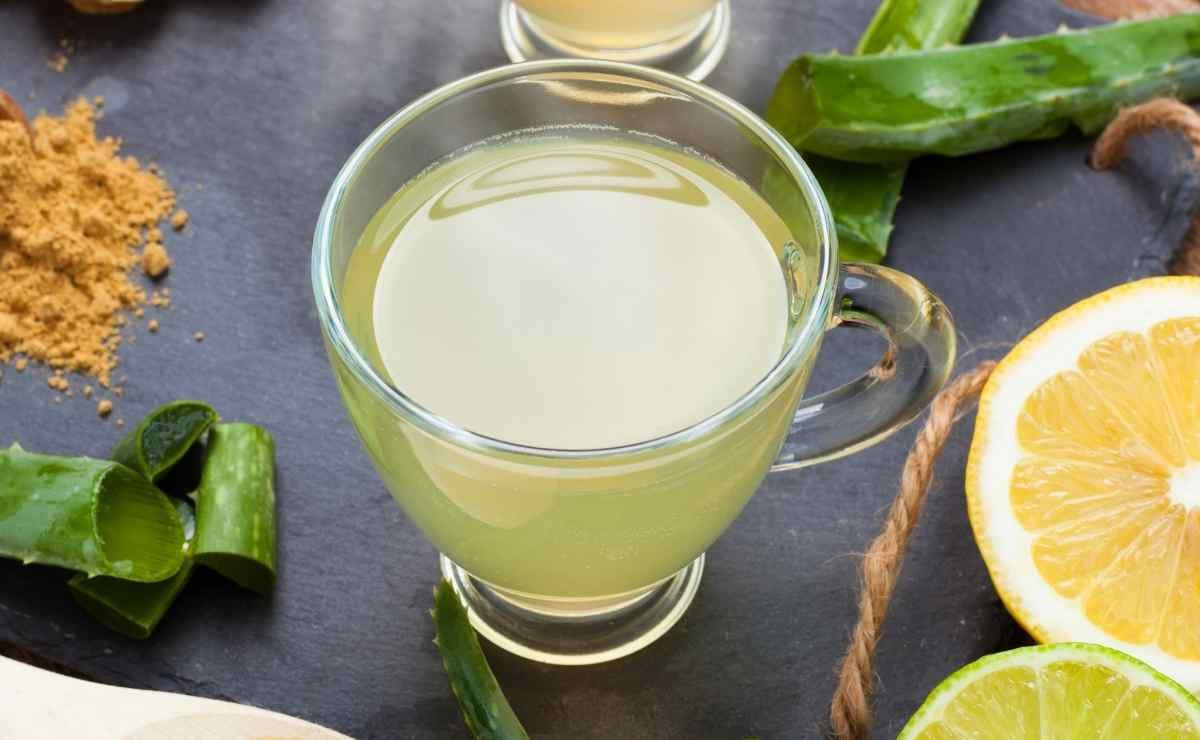 Agua de aloe vera con limón: el remedio casero perfecto para estar saludables