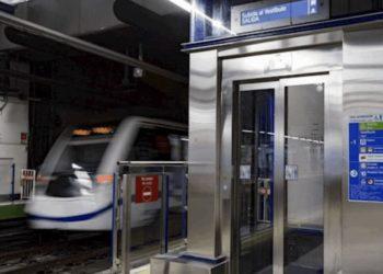 Ascensor metro de Madrid
