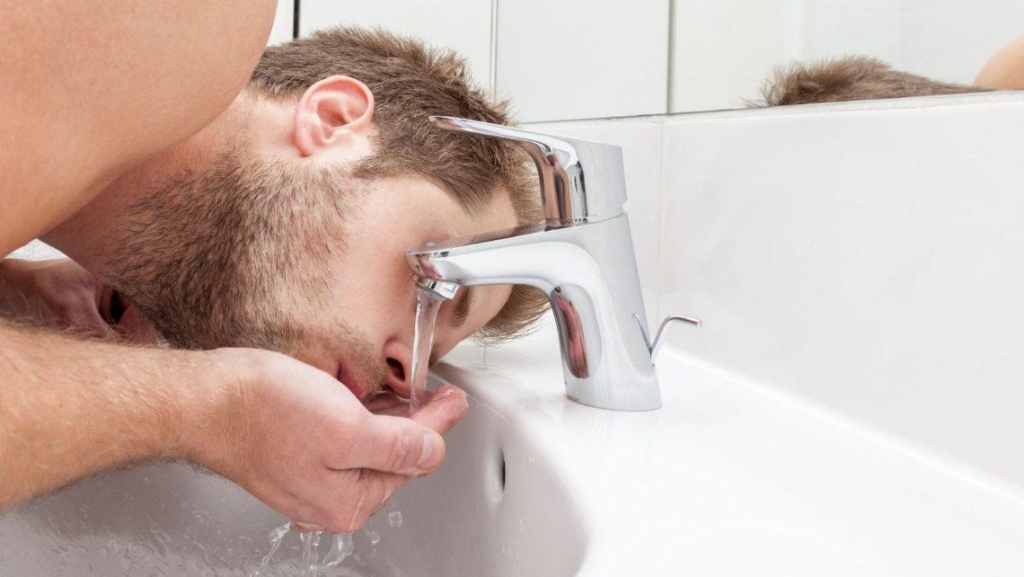 Beber Agua de grifo
