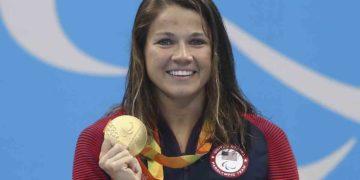Becca Meyers en los Juegos Paralímpicos de Río 2016