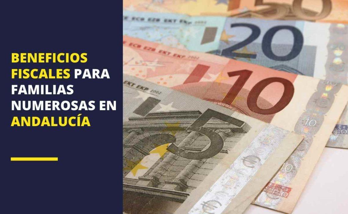 Beneficios fiscales para familias numerosas en Andalucía