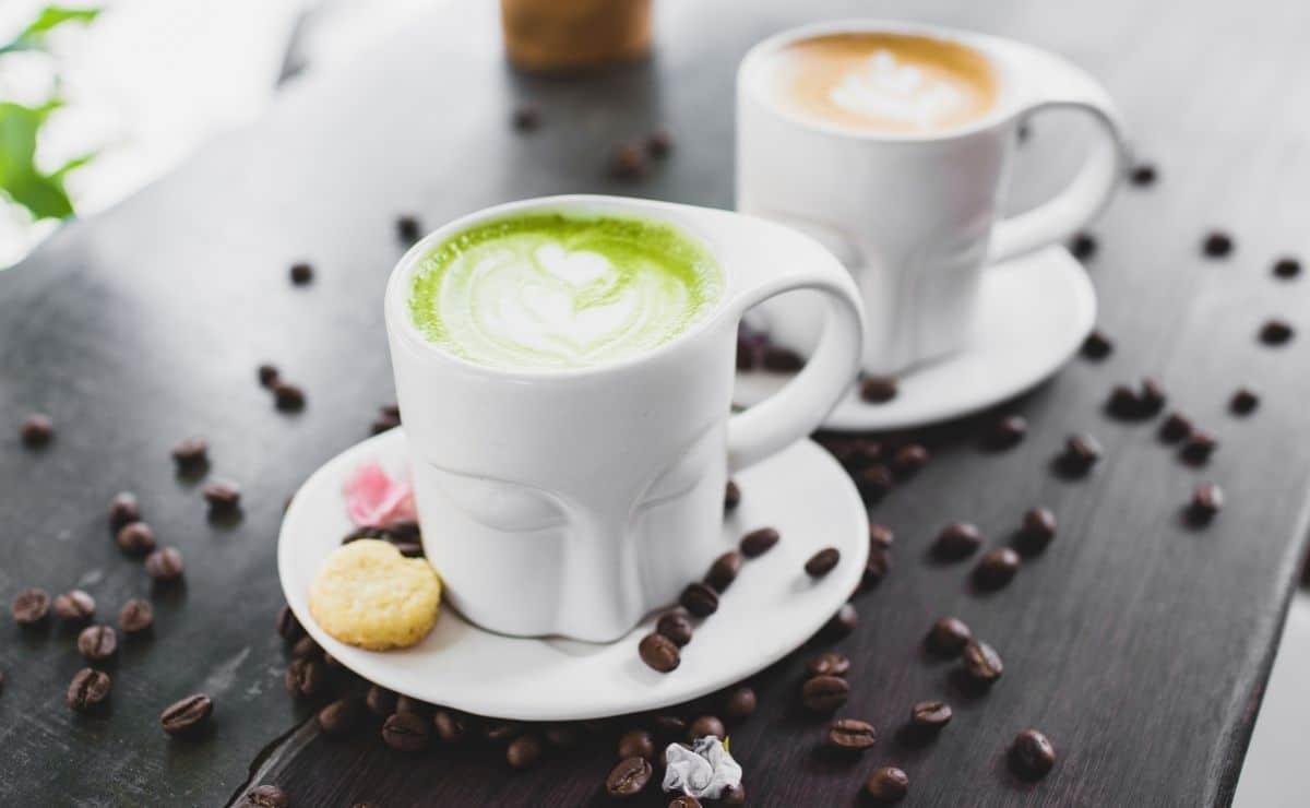 Café y té matcha