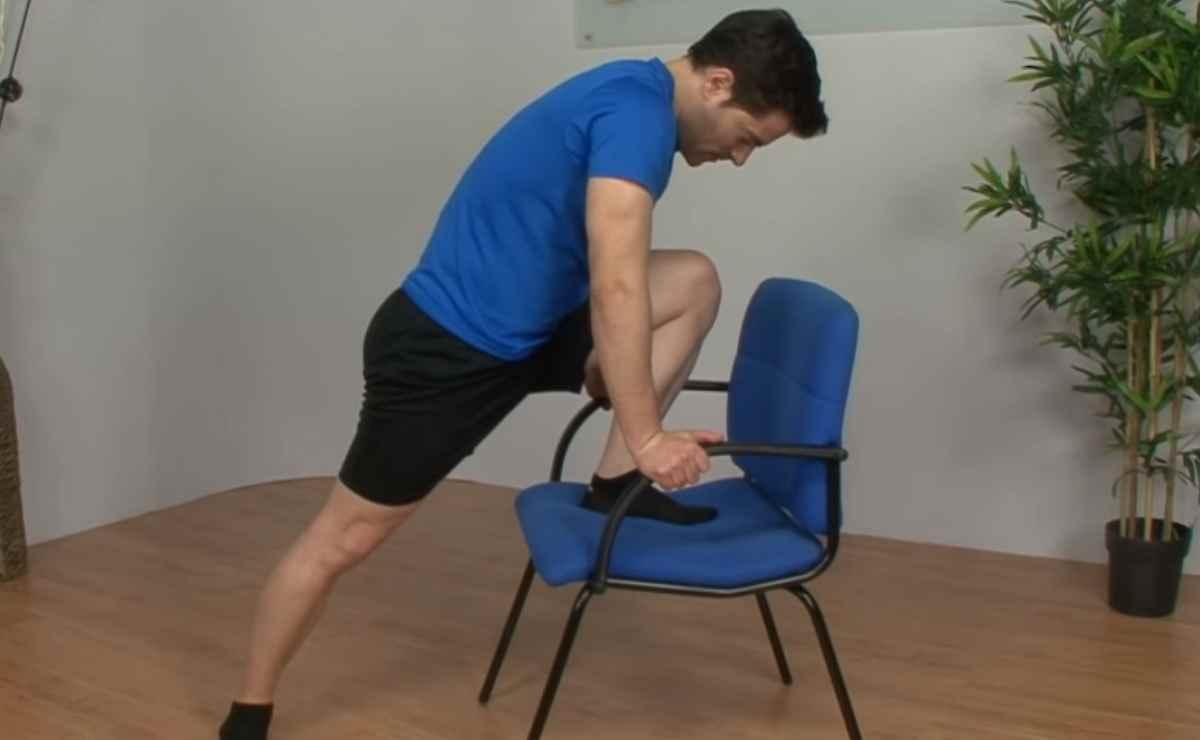 Ejercicios de rehabilitación de rodilla