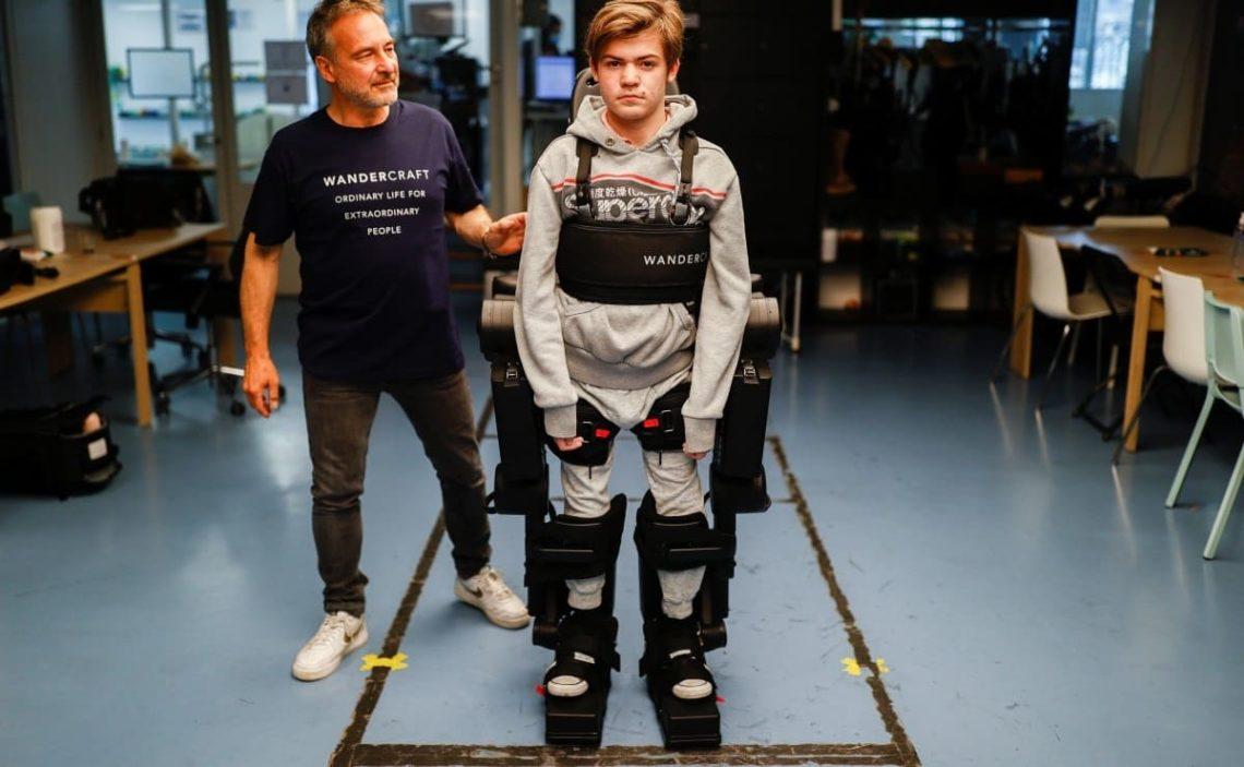 Exoesqueleto Oscar discapacidad