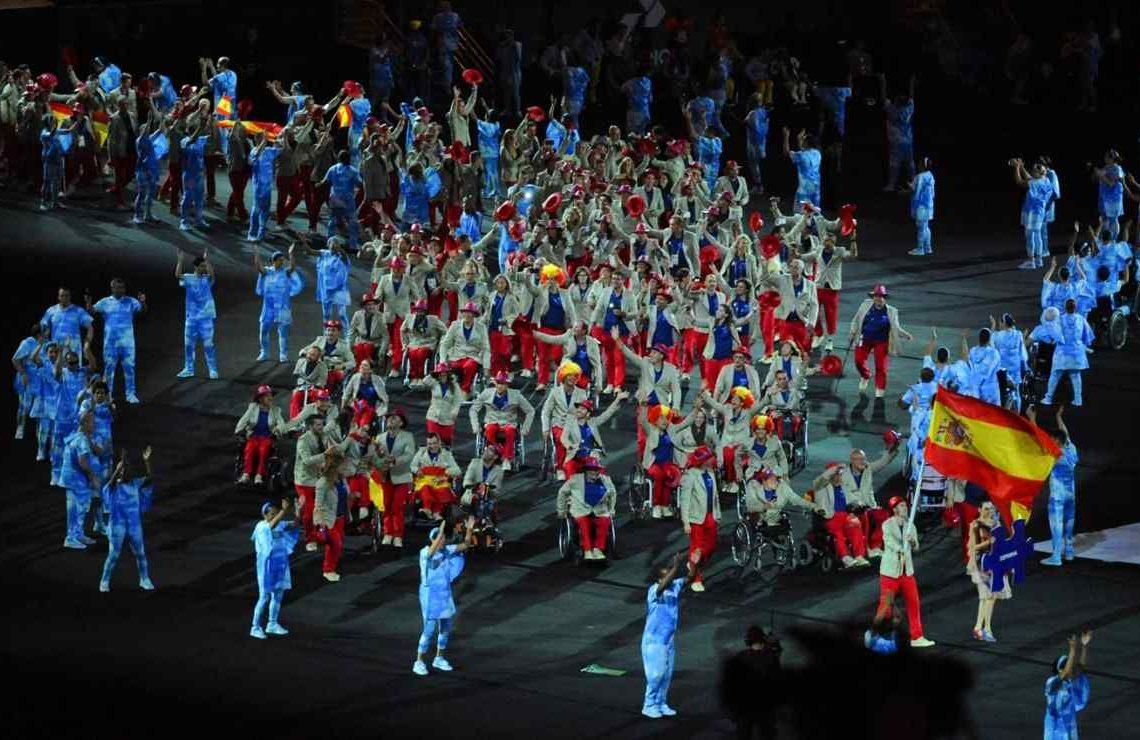 El combinado español durante la inauguración de los Juegos Paralímpicos de Río 2016 | Paralímpicos