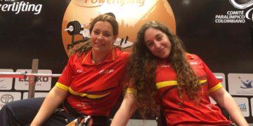Las halterófilas españolas Loida Zabala y Montse Alcoba Juegos paralimpicos tokio 2020