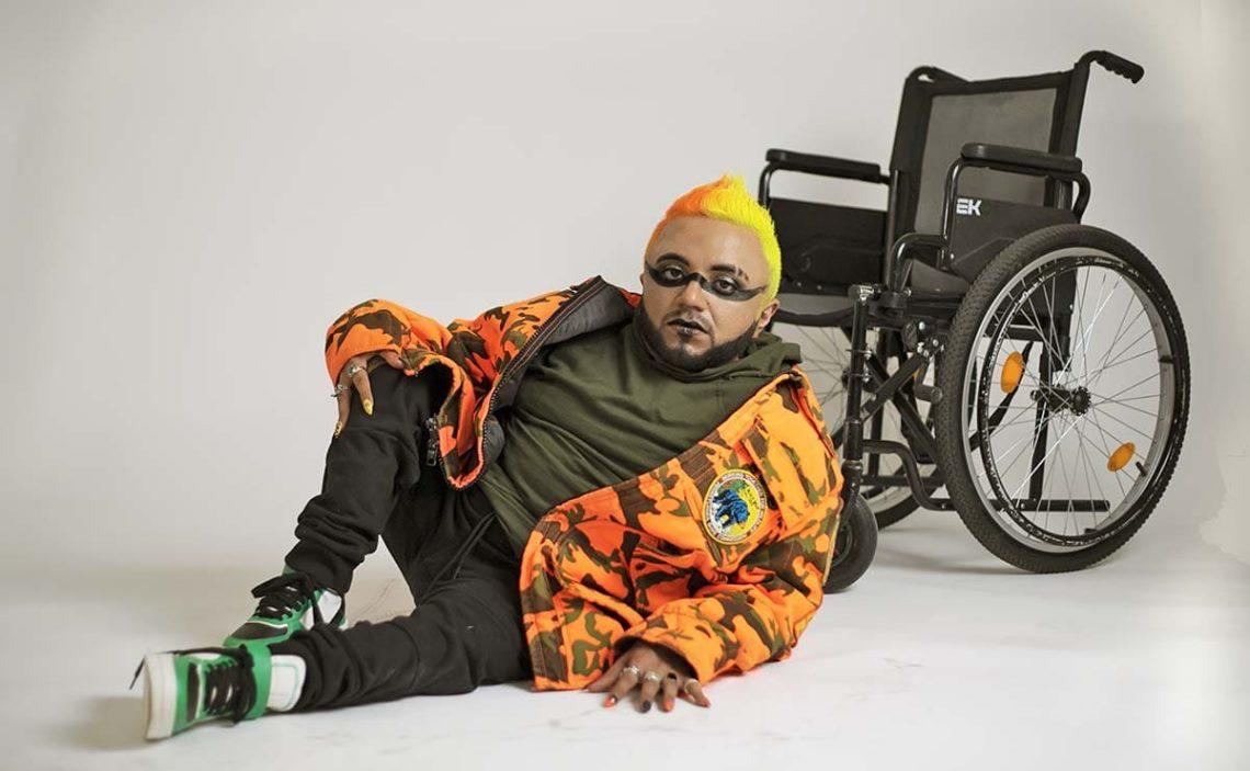 Maldito Lisiado persona con discapacidad Guz Guevara