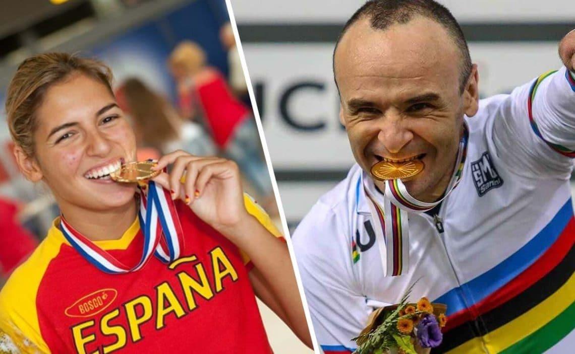 Michelle Alonso Ricardo Ten abanderado España Juegos Paralimpicos