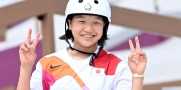 Momiji Nishiya medalla de oro Tokyo 2020 skateboarding