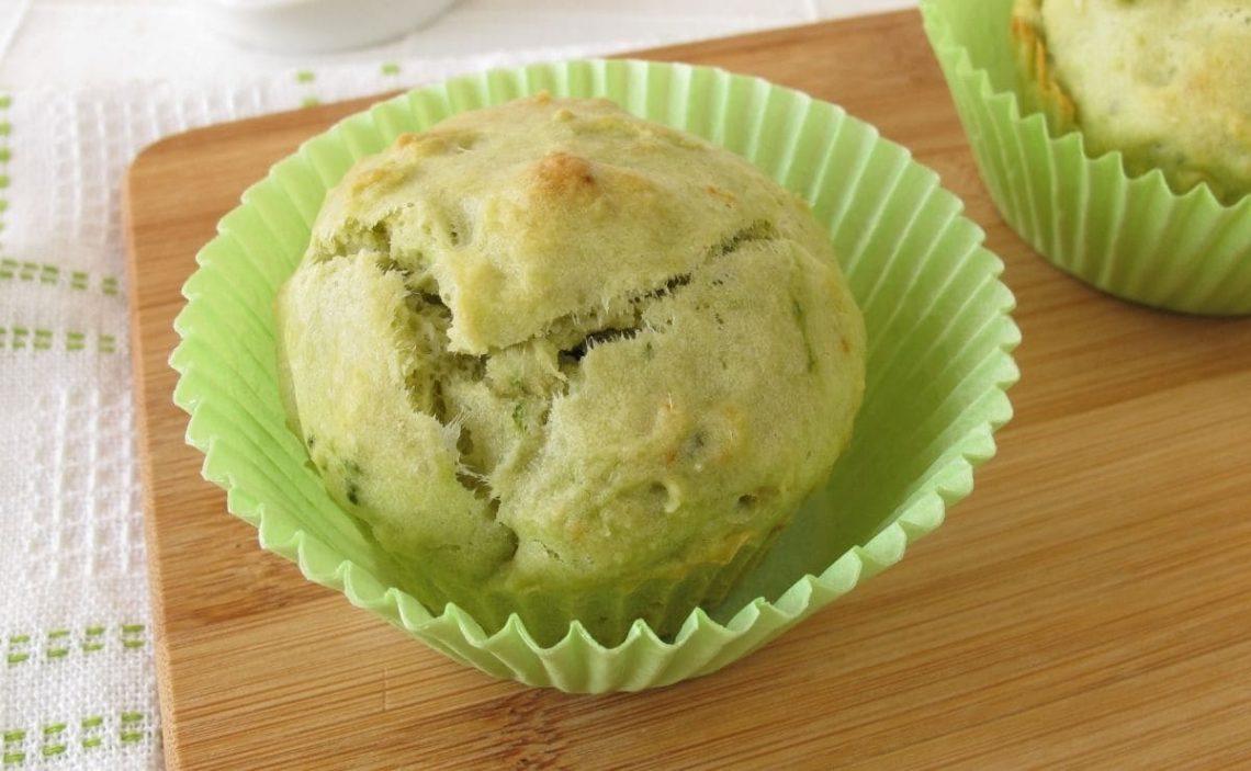 muffins de té matcha