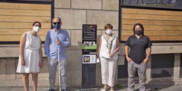 Pamplona Camino de santiago accesibilidad discapacidad NaviLens