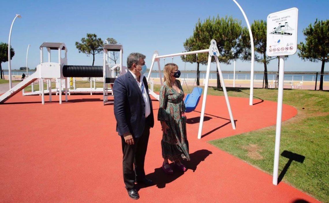 Parque infantil inclusvio puerto de huelva