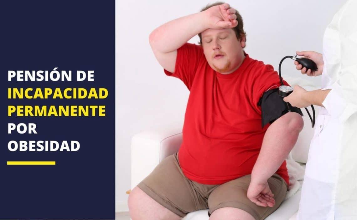 Pensión de incapacidad permanente por obesidad
