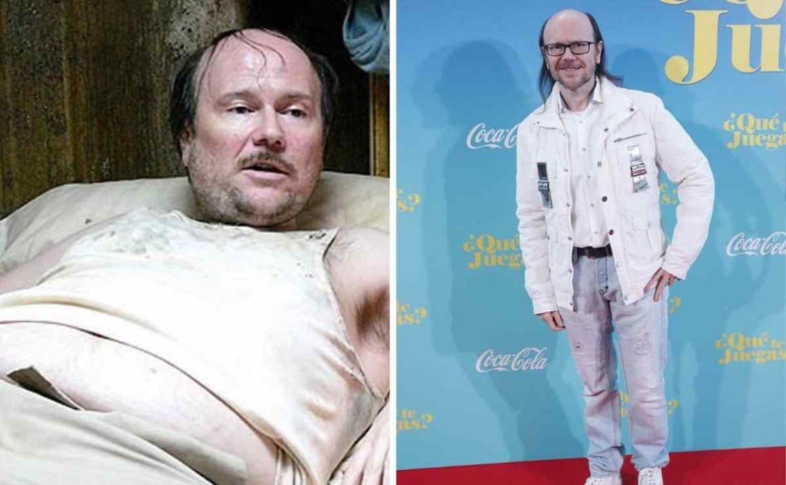 Santiago Segura, antes y después de su dieta