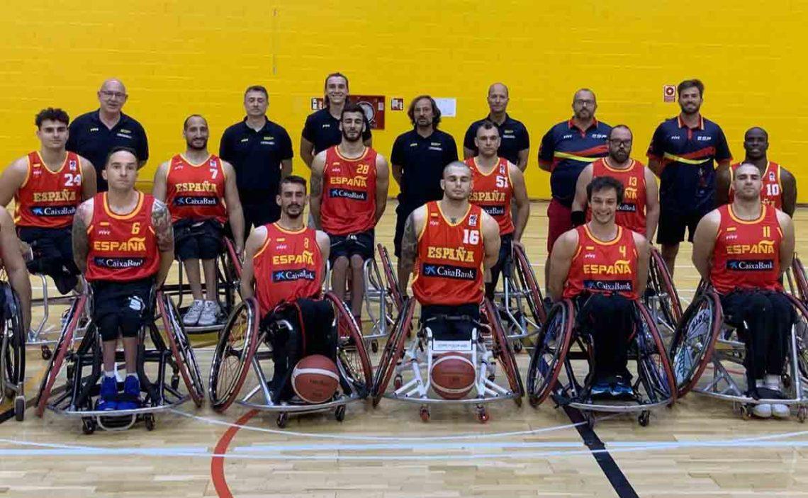 Selección Española Baloncesto en silla de ruedas | Juegos Paralímpicos de Tokio 2020