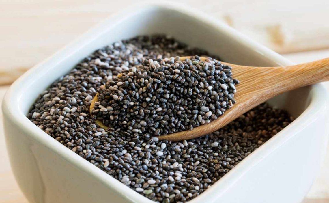 Semilla de chía, saludable para incluir en nuestra dieta