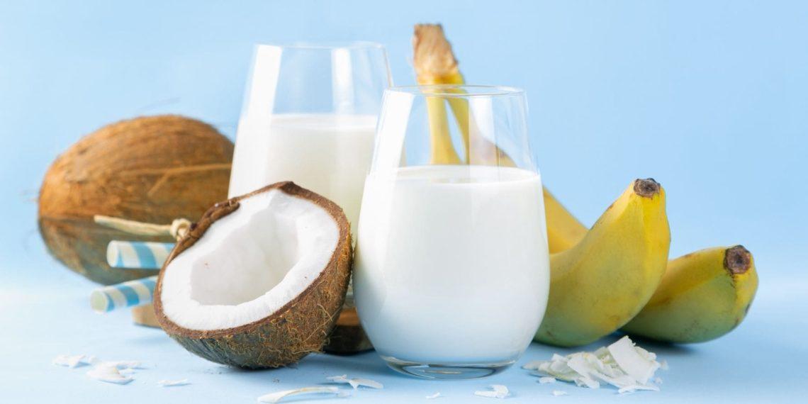Smoothie de banana y coco