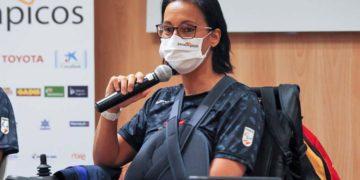 Teresa Perales presentación equipo Paralimpico Tokio 2020