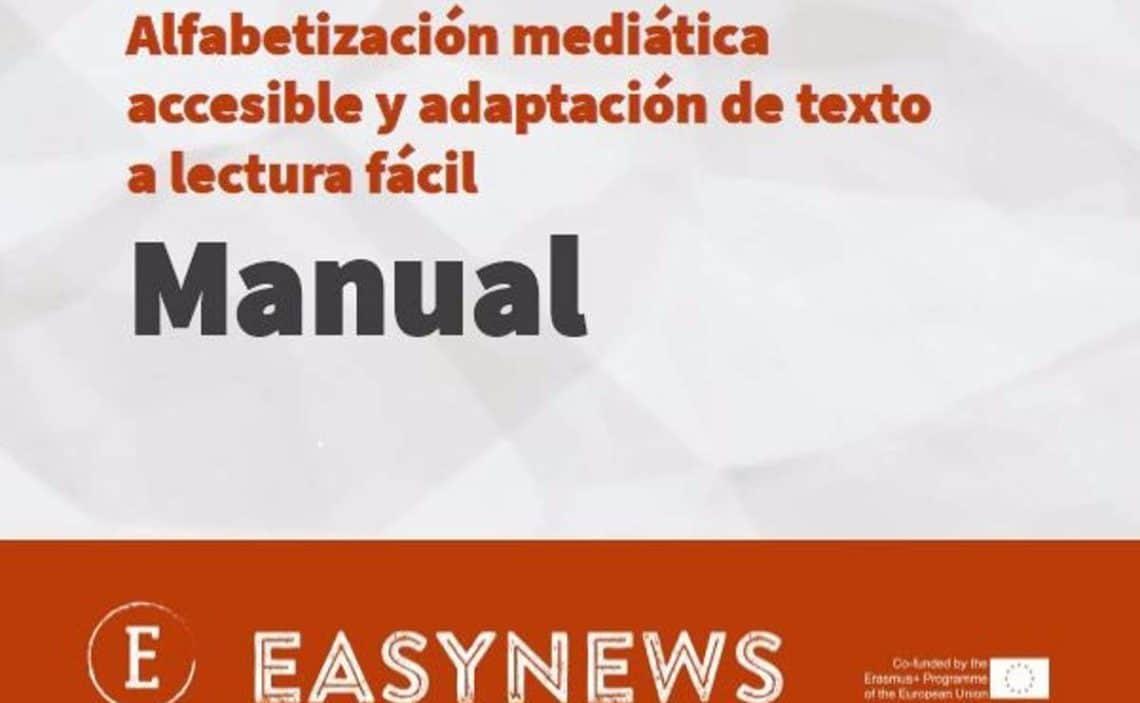 Desarrollan un manual formar a personas con discapacidad intelectual sobre alfabetización mediática