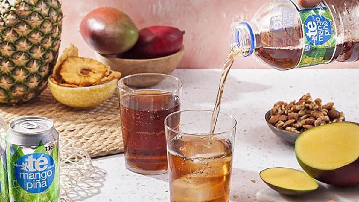 Bebida refrescante de mango y piña que encontrarás en Mercadona