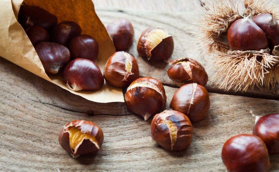 castañas vitamina C frutos secos