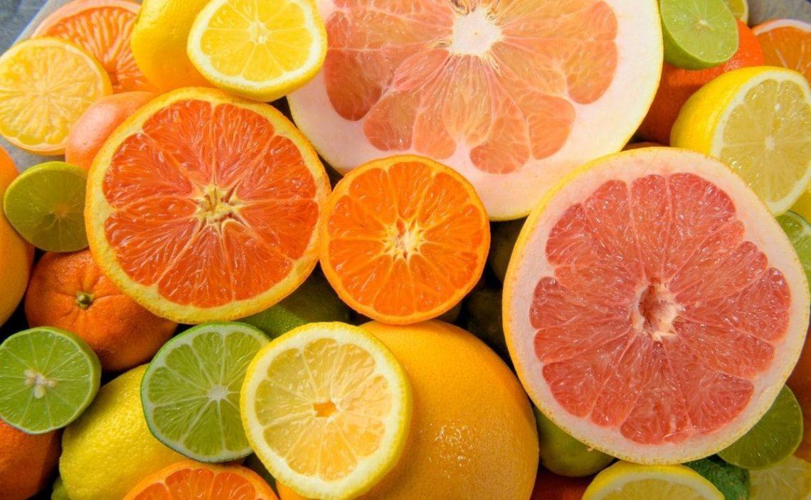 comer citricos de forma regular