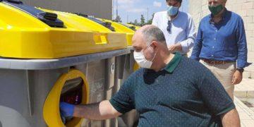 contenedores accesibles ayuntamiento de Alicante