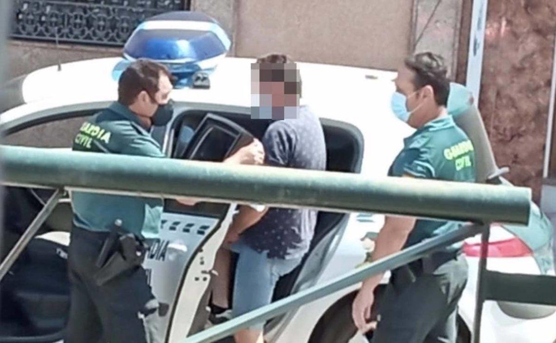 detenido Guardia Civil Vilches Jaen discapacidad intelectual