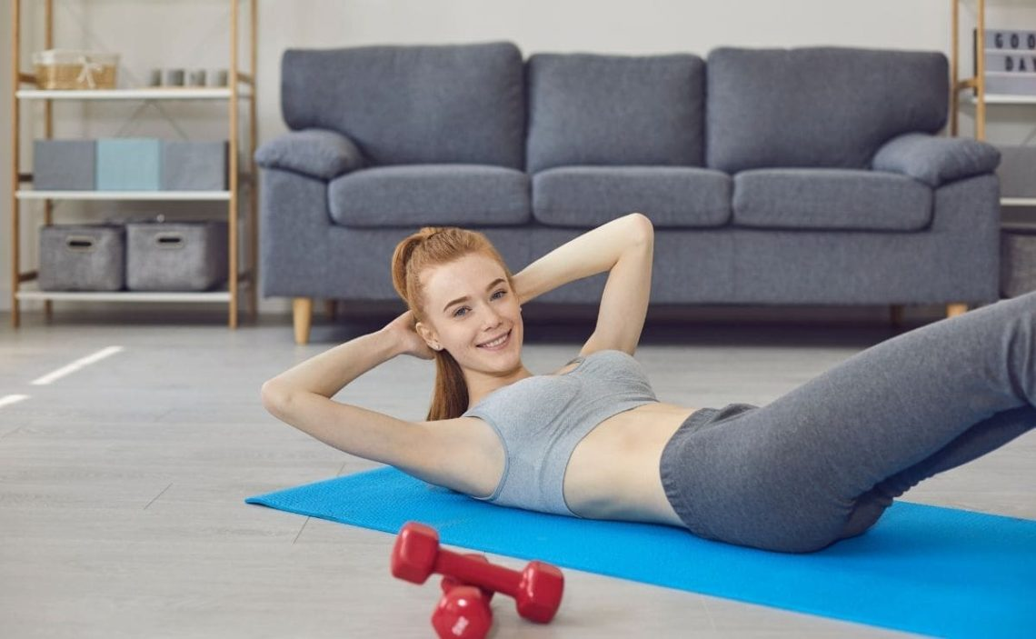 ejercicios abdominales abdomen
