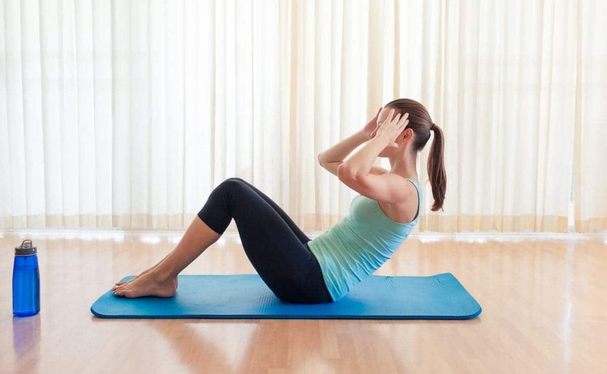 ejercicios para perder barriga sit ups abdominal