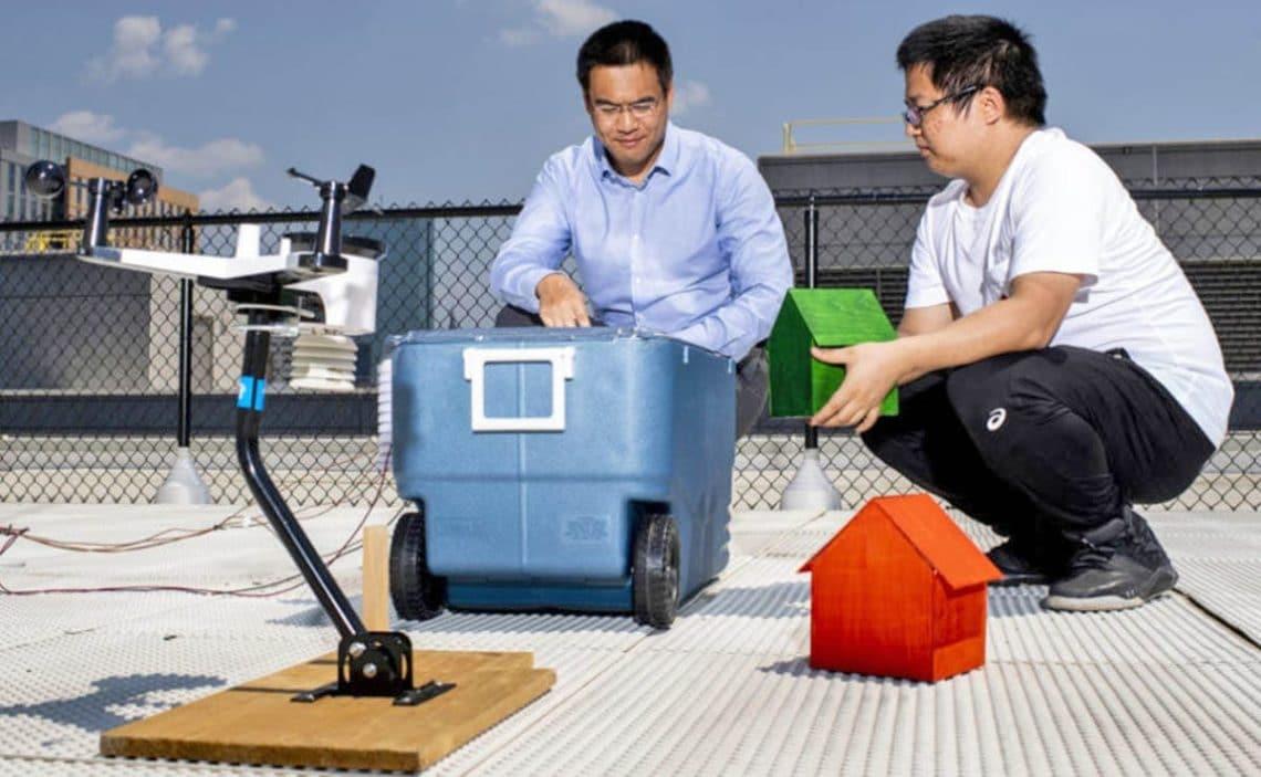 invento aire acondicionado reducir luz