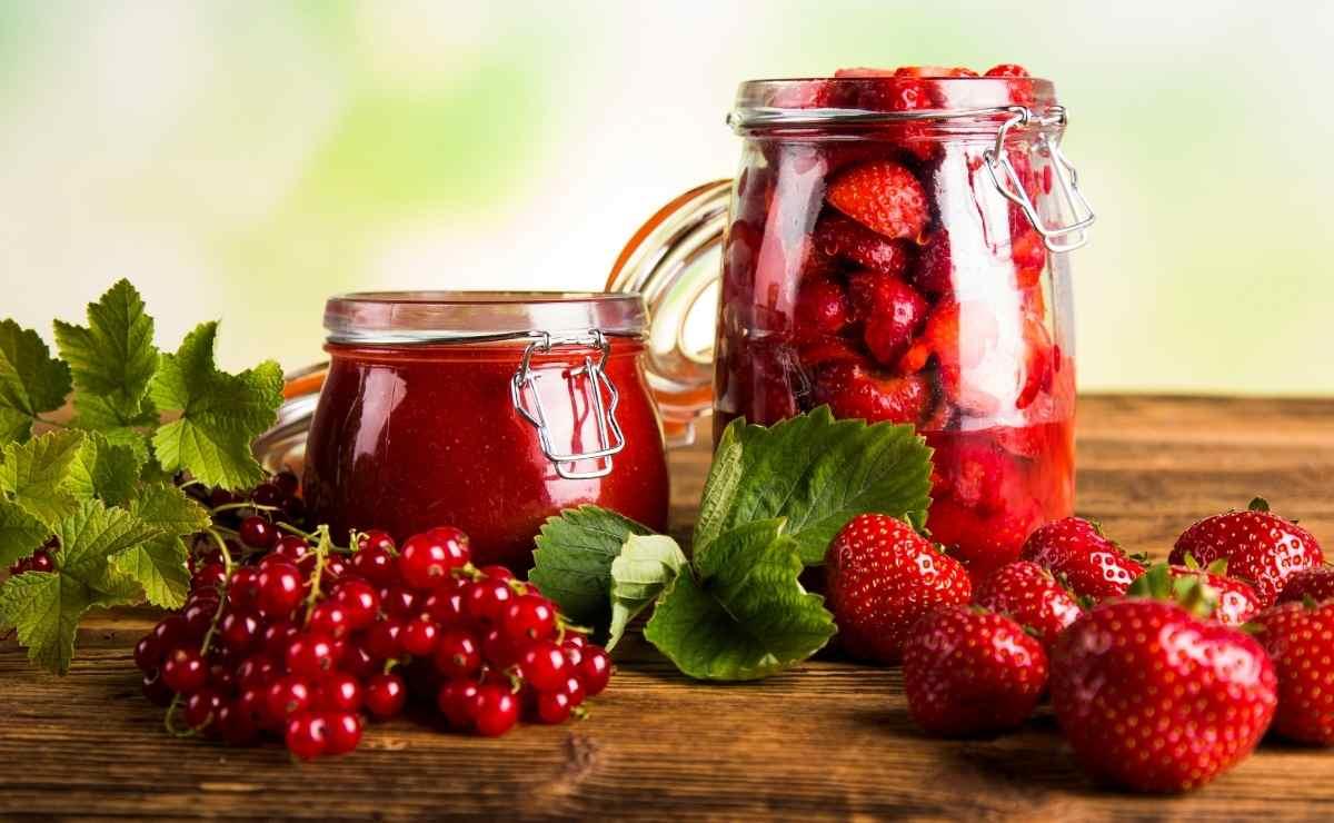 Jugo de frutas del bosque con propiedades antioxidantes