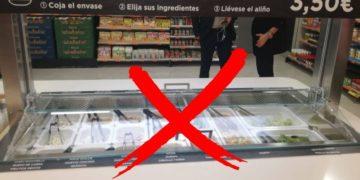 mercadona retira buffet libre ensaladas