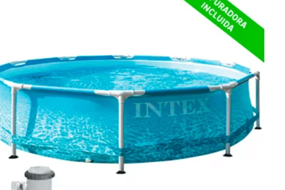 Piscina tubular de PVC redonda INTEX - 139,00 €Piscina tubular de PVC redonda INTEX - 139,00 €