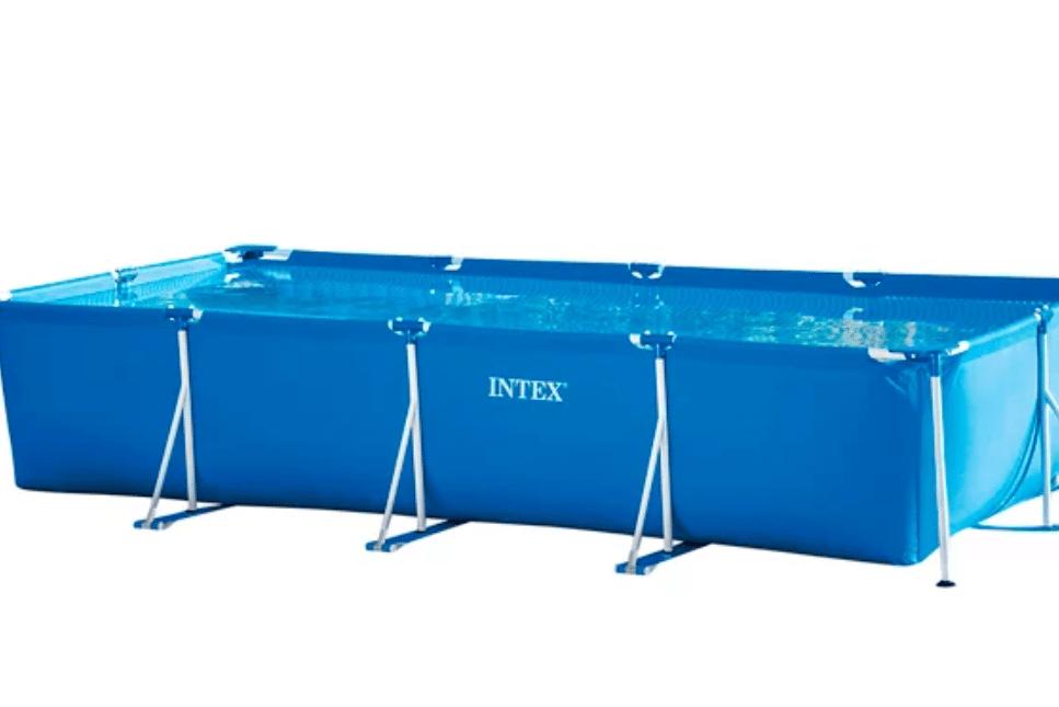 Piscina tubular de PVC rectangular INTEX - 199,00€