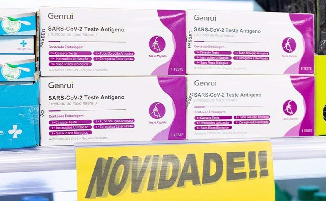 tesst de antigenos Mercadona Portugal