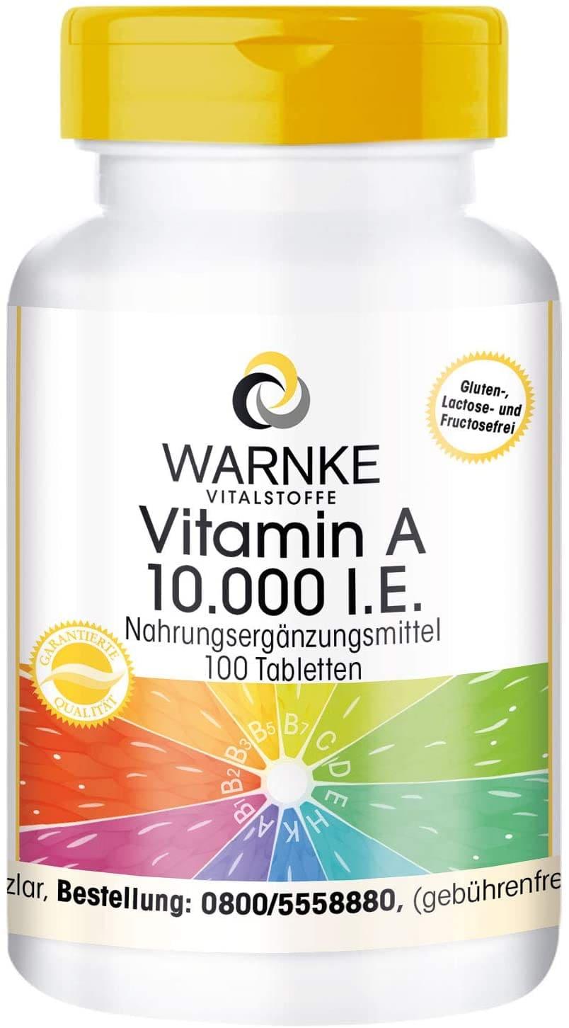 suplemento vitamina A