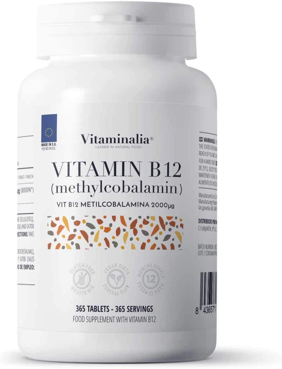 vitamina B12 suplemento