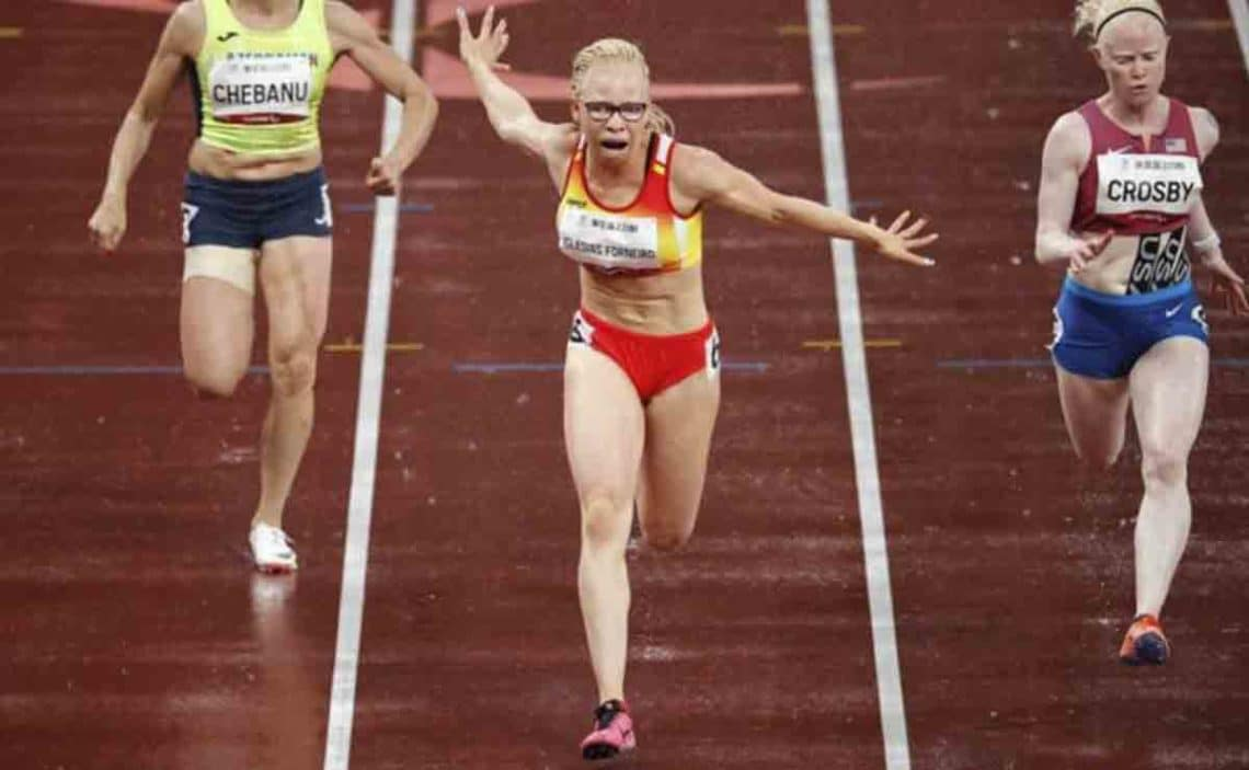 Adiaratou Iglesias, campeona paralímpica en los Juegos Paralímpicos de Tokio 2020